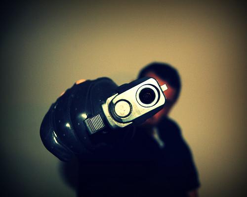 Don't shoot Officer Hub!