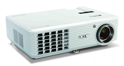 The Acer H5360 projector