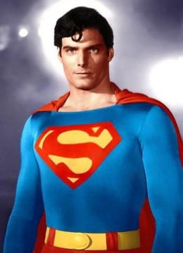 Christopher Reeve from the Superman movies