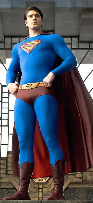 Brandon Routh from Superman Returns