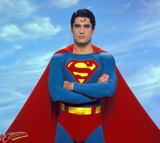 John Haymes Newton from Superboy