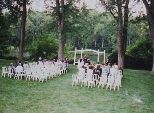 My wedding ceremony