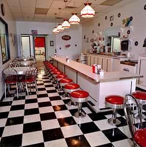 This is a picture of Little Scoops, Middletown NY.