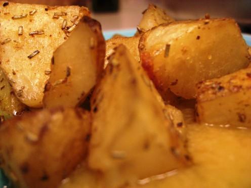 Roasted Potatoes with Allioli