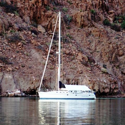 Dusk at Candalero Cove - Isla Espiritu Santo - Sea of Cortez