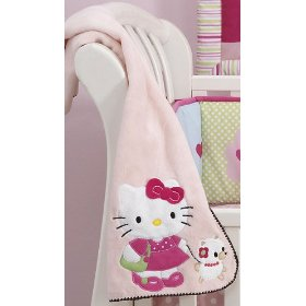 Hello Kitty fleece throw blanket