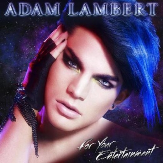 This is the CD cover from Adam Lamberts Debut CD. A little too Glam for me. But, he's the Star!