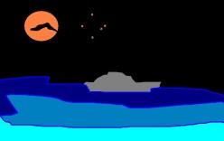 A vampire at sea.