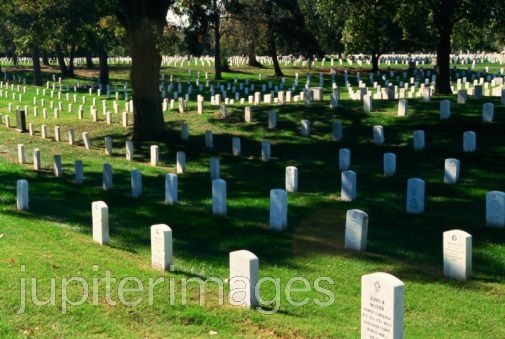 THIS CEMETARY SHOWS AN EXAMPLE OF JUST HOW MANY WOMEN AND MEN WHO GO TO FIGHT FOR THER COUNTRY NEVER RETURN BACK TO IT.