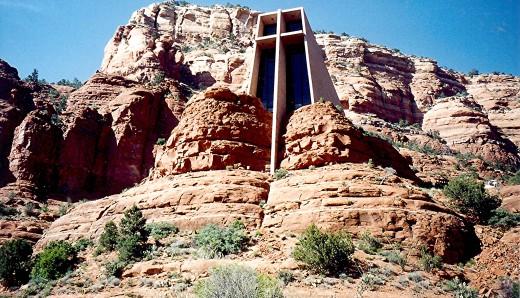 Chapel of the Holy Cross in Sedona, Arizona