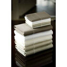 LinenSpa white bed sheet set