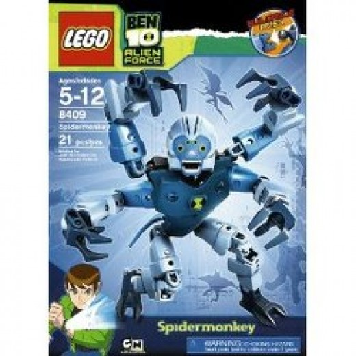 The Ben 10 Spidermonkey Set