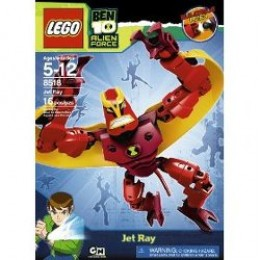 The Ben 10 Jet Ray Set