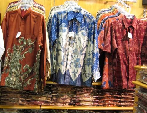 Batik shirts for men