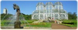 The green house in the botanical garden of Curitiba, Paran, Brazil.      http://www.flickr.com/photos/mcdemoura/846709717/