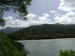 The rugged Cape Tribulation