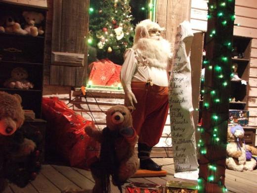 Santa's makin' a list and checkin' it twice