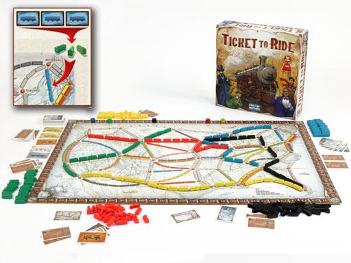 Ticket To Ride - Days of Wonder Games