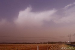 Approaching Dust Storm