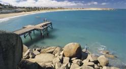 Port Elliot - Horseshoe Bay, a popular swimming beach.