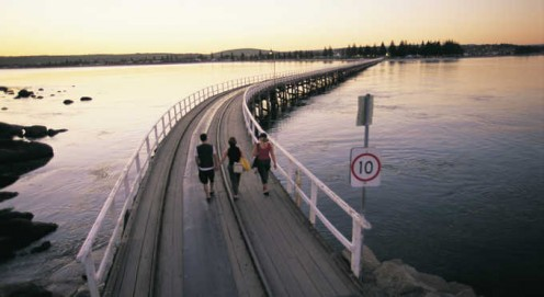Catch the famous horse drawn tram over the Bridge - Victor Harbour to Granite Island.