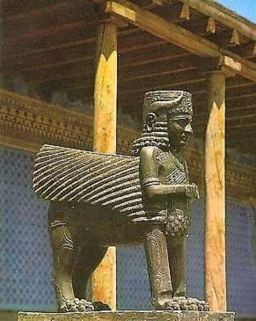 The gods of the Nairi/Urartu were very similar to those of the Assyrians, and other Mesopotamian cultures.