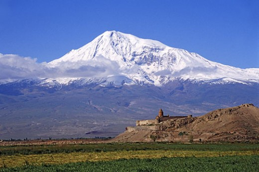 Mount Ararat, derived from Urartu.