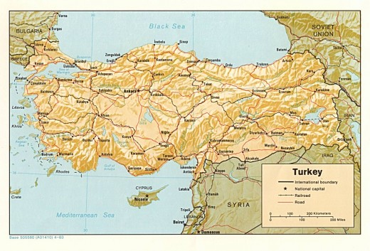 Asia Minor, Anatolia, the Armenian Plateau
