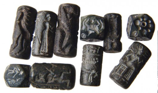 Cylinder seals, one of the first forms of written signature.