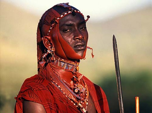 Kenyan Masai Warrior