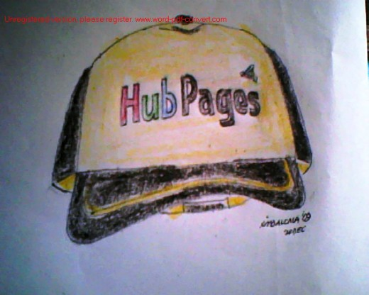Hubpages on caps
