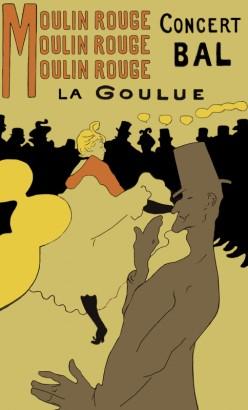 Le Moulin Rouge Poster by Henri Toulouse-Latrec