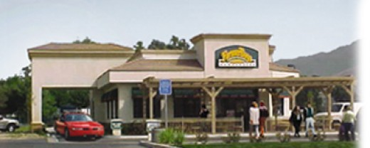 Great hamburgers and variety of other foods are available at Farmer Boys.
