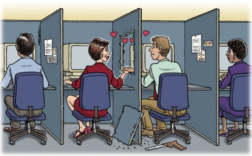 Office politics and office romance