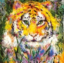 LeRoy Neiman tiger