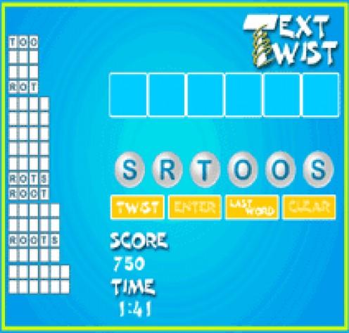 Play Text Twist online.