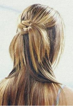 With A Clever Set Of Hair Extensions You Can Even Wear Your Hair In A Up-Style.