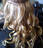 Hair Extensions How To; BEFORE Full Set Temporary