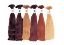 Single Clip Hair Extension Attachments In Natural Shades