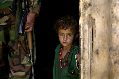 Peace is an elusive commodity; for some children, war is ever-present.