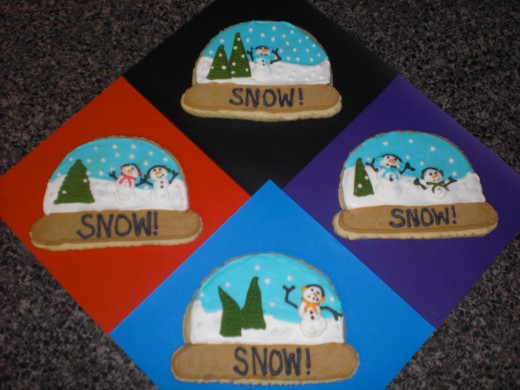 more snow globes, and more fun!! :O)