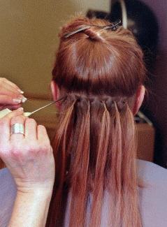 The Bonding Method For Applying Hair Extensions