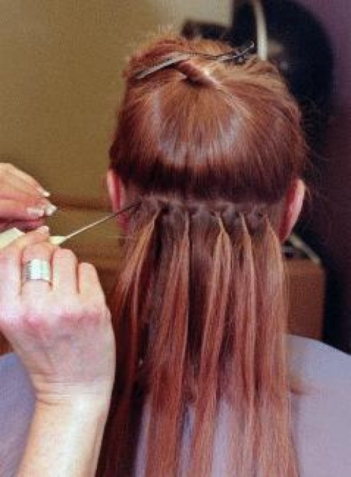 The Bonding Method For Applying Hair Extensions