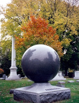 Modern sculpture monument