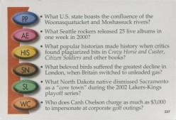 Trivia, Trivia And More Trivia