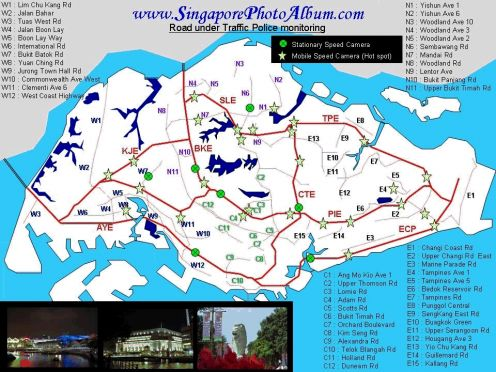 Caught Speeding In Singapore HubPages - Us speed camera map