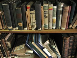 You can find some fascinating old books at your local used bookstore