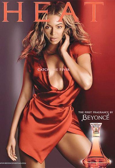 Beyonce's perfume debut, Heat