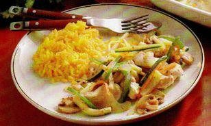 Chicken Fricassee with Vegetables