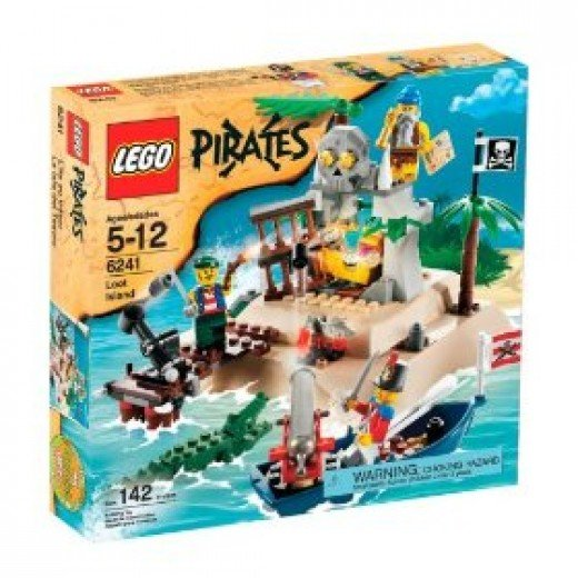 Lego Pirates Loot Island is a great addition to the Lego Pirate Sets!